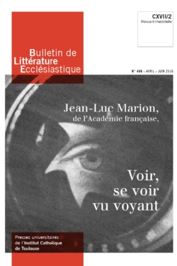 image bulletin-de-litterature-ecclesiastique-n0466-avril-juin-2016-9770743224667